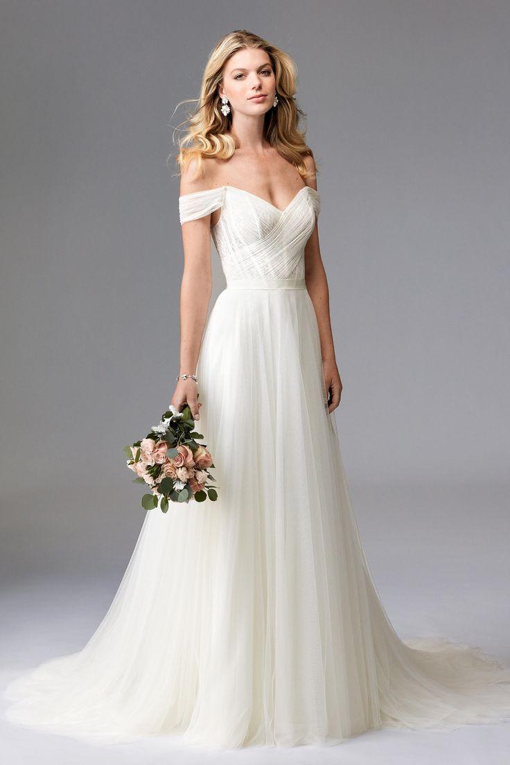 romantic wedding dresses fall wedding dresses Romantic Wedding gown BridalPulse Wedding Dress Gallery Wtoo Brides Fall Floor
