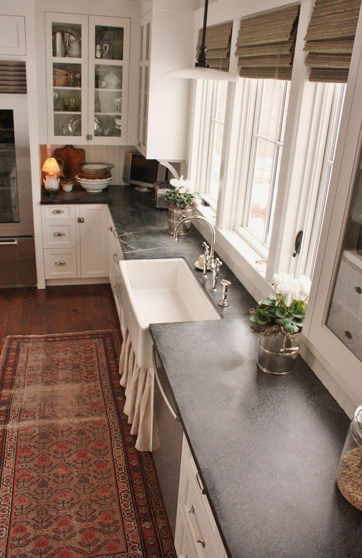 countertop kitchen countertop prices I get a lot of questions asking about my experience with the soapstone countertops in the