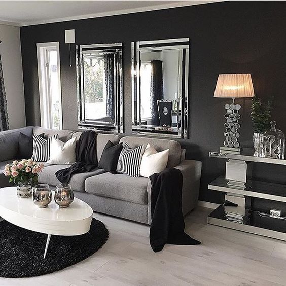25 best ideas about gray living rooms on pinterest couch room grey walls and decor black furniture t
