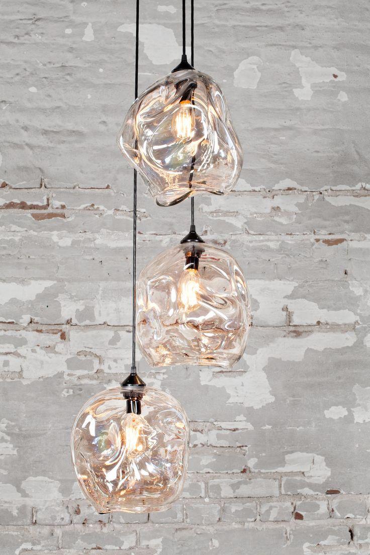 glass pendant light kitchen chandelier lighting INFINITY PENDANT LIGHTING LOVE THE UNIQUE SHAPES OF PENDANTS