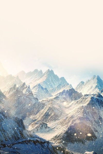Winter Snowy Mountain landscape #iPhone #4s #Wallpaper | iPhone 4(s) Wallpapers | Pinterest ...