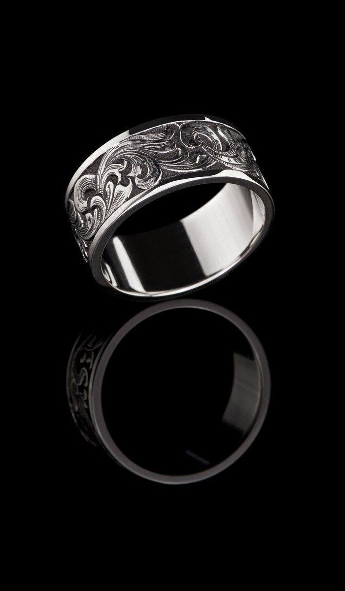 wedding rings western style wedding rings Western Style Gold Band GR
