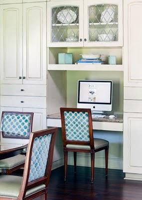 Kitchen Desk Space