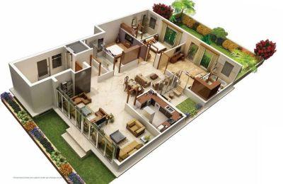 31 Awesome villa floor plan 3d images | Plan | Pinterest | Villas and 3d