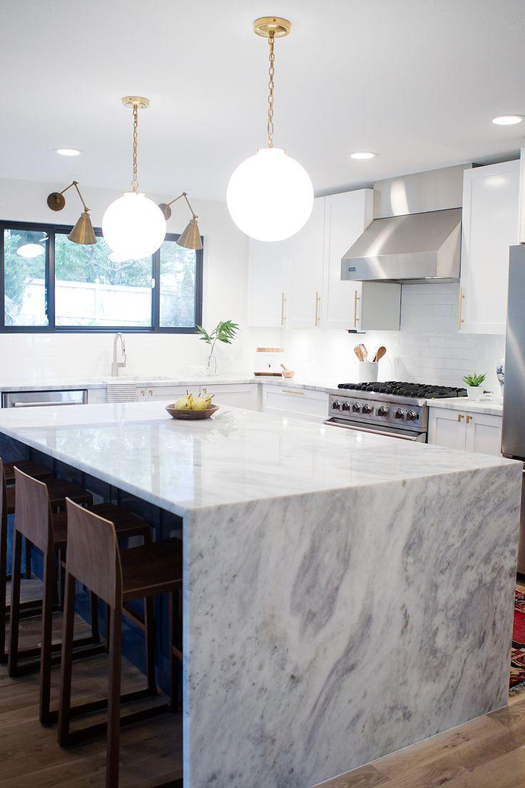 super white quartzite countertop kitchen Modern Kitchen Countertop Options Super White New Super White Quartzite withHEART