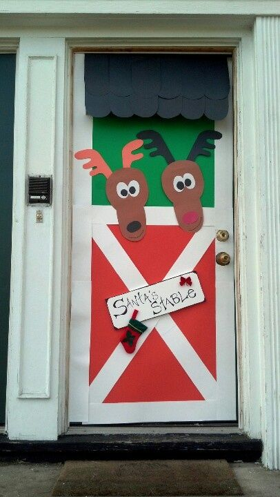 office door christmas decorating contest holiday decorations for