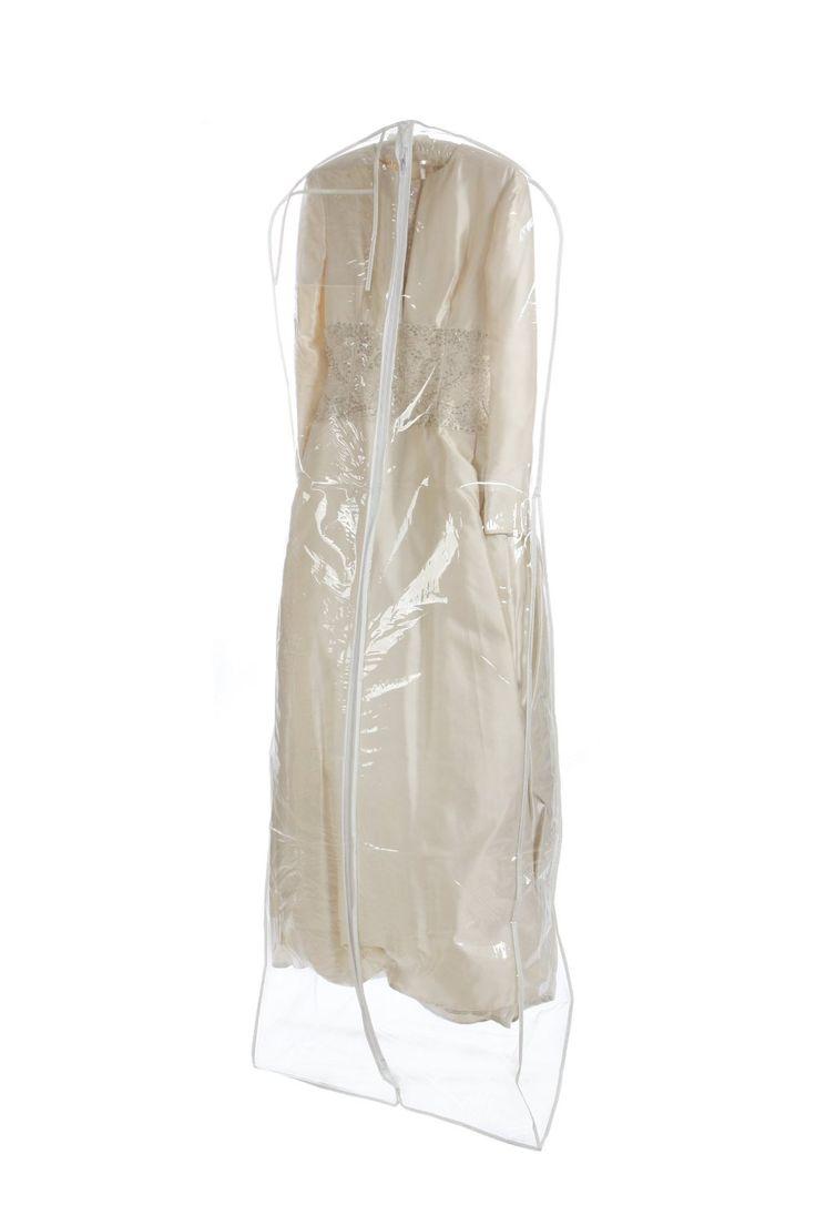 wedding dress storage wedding dress garment bag Heavyduty 4 5 Mil Clear Bridal Wedding Gown Dress Garment Bag Travel Storage Organize Bag Extra Long