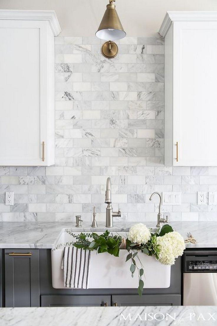 backsplash ideas kitchen backsplash trends 99 Elegant Subway Tile Backsplash Ideas for Your Kitchen or Bathroom