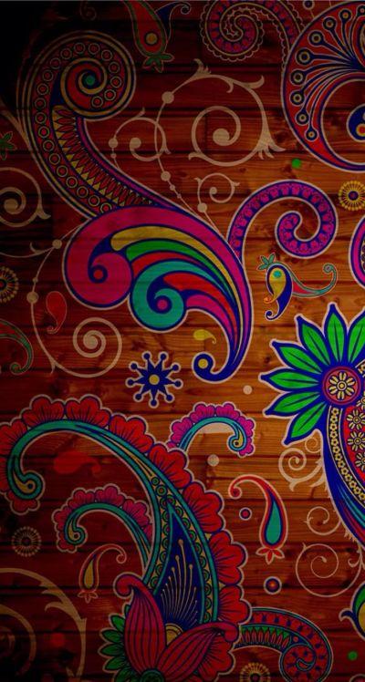 Paisley Pattern Wood iPhone5 Wallpaper.   Paisley Crazy   Pinterest   Paisley Pattern ...
