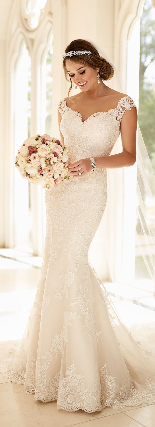 off shoulder wedding dress wedding dresses Stella York Spring Bridal Collection
