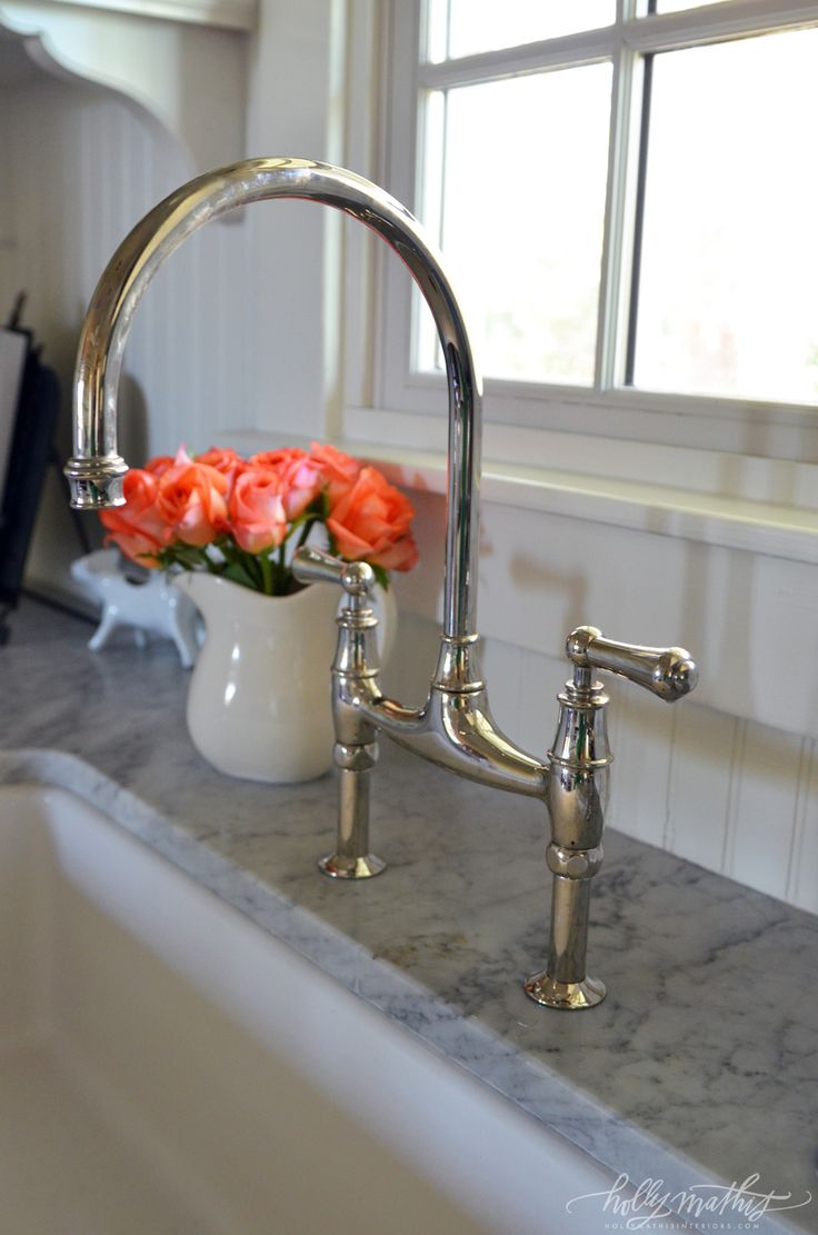 kitchen sinks rohl kitchen faucets its Rohl and yes it s an investment but a bridge faucet does really look great