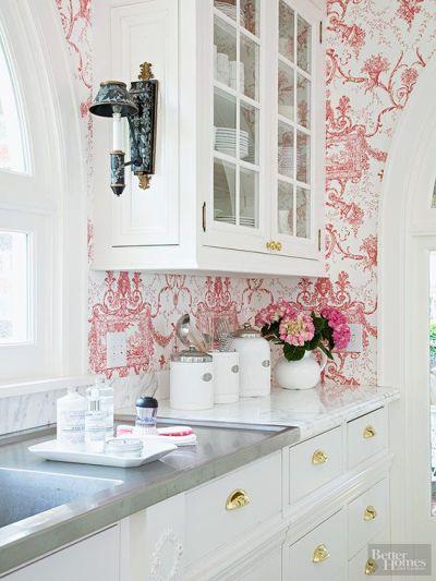 25+ best ideas about Kitchen wallpaper on Pinterest | Wallpaper, Wallpaper ideas and Textured ...