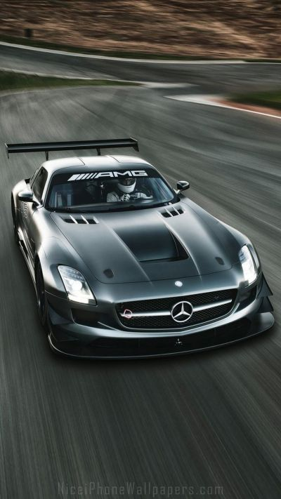 Mercedes-Benz SLS AMG GT3 iPhone 6/6 plus wallpaper | Cars iPhone wallpapers | Pinterest ...