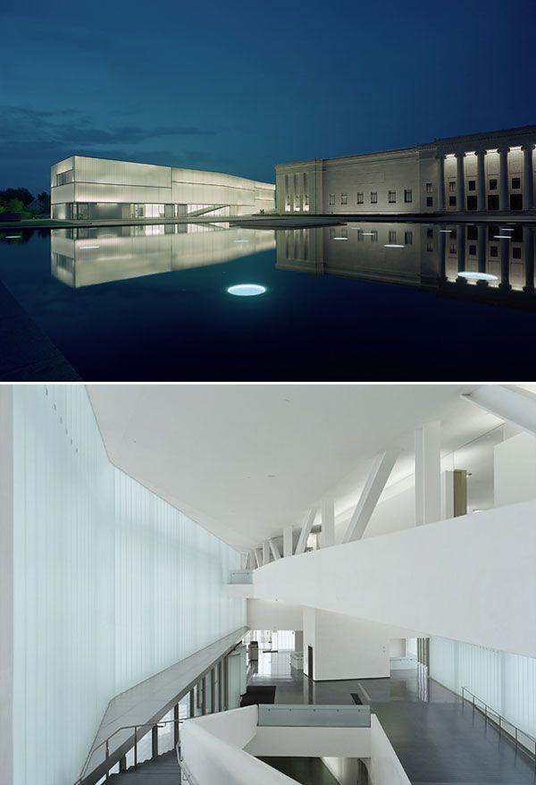 Exellent Modern Architecture Kansas City The Nelsonatkins Museum Of Art To Design