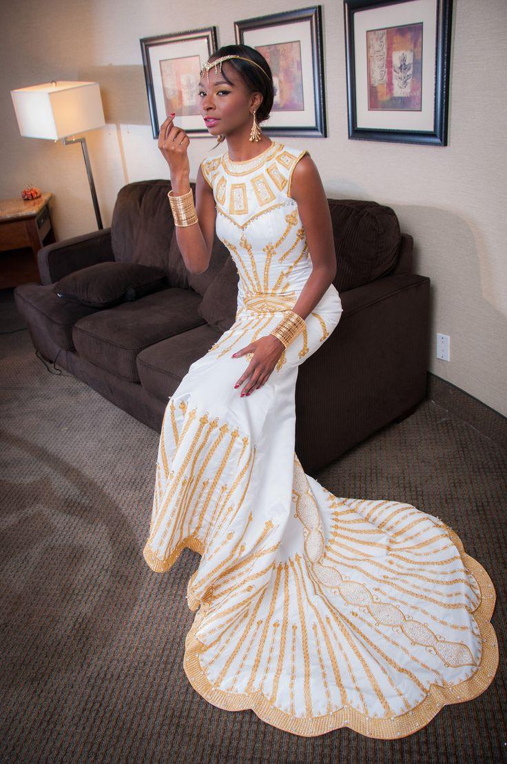 african wedding dress african american wedding dresses Photography by Grady Carter Wedding GoalsWedding AttireWedding DreamsAfrican Wedding DressAfrican DesignAmerican