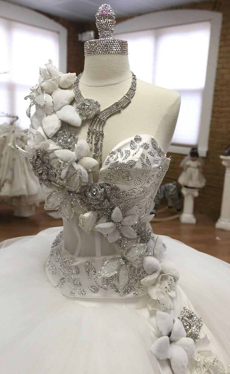 sondra celli bling wedding dresses Bling wedding dress