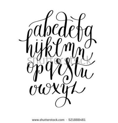 Best 25+ Cursive Calligraphy ideas on Pinterest | Wedding ...