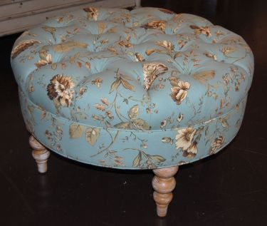 Crestwood Round HandTufted Ottoman Available At Homegallerystorescom