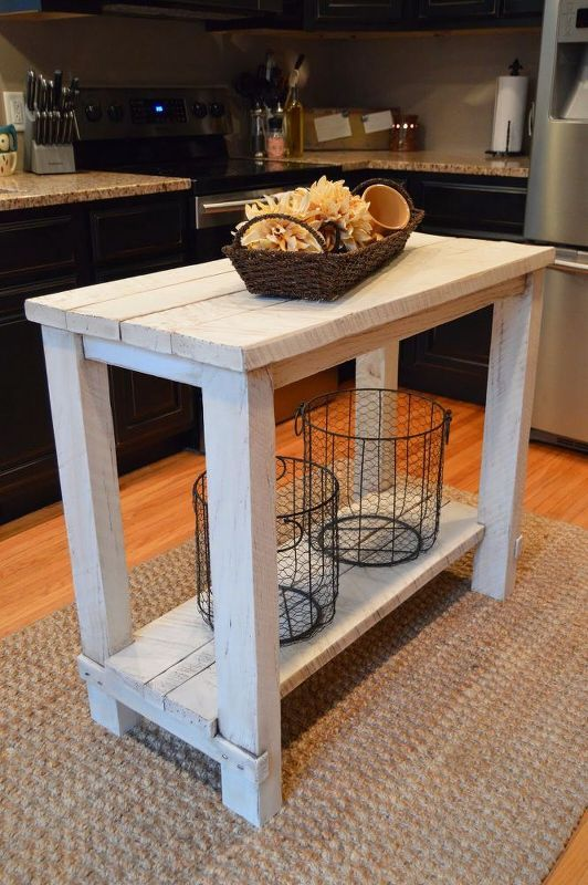 rustic reclaimed wood kitchen island table furniture ideas a