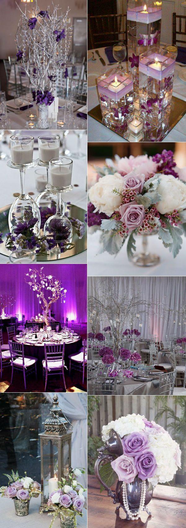 purple silver wedding purple and silver wedding stunning purple and silver wedding decorations and centerpieces