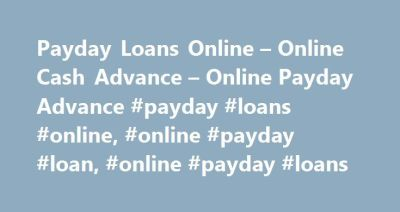 Best 20+ Payday advance loans ideas on Pinterest