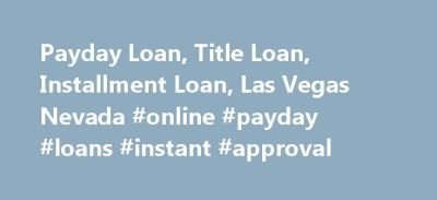 25+ best ideas about Payday loans direct lender on Pinterest | Bad credit loans online, Online ...
