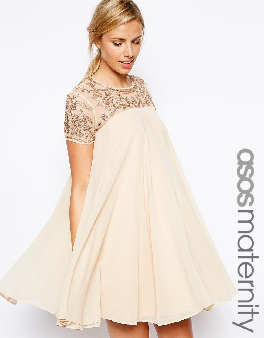 maternity dresses for wedding ivory sequined shift maternity cocktail dress for a wedding