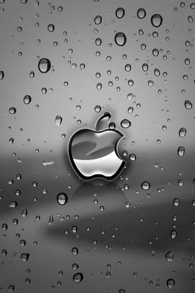 Apple rain iphone 4 wallpaper and iphone 4s wallpaper | iPhone 4 and iPhone 5 Wallpapers HD ...