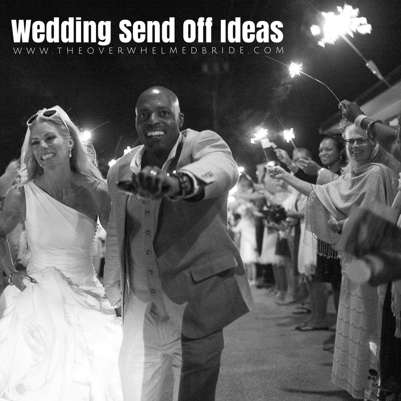 wedding send off ideas Unique Wedding Sendoff Ideas