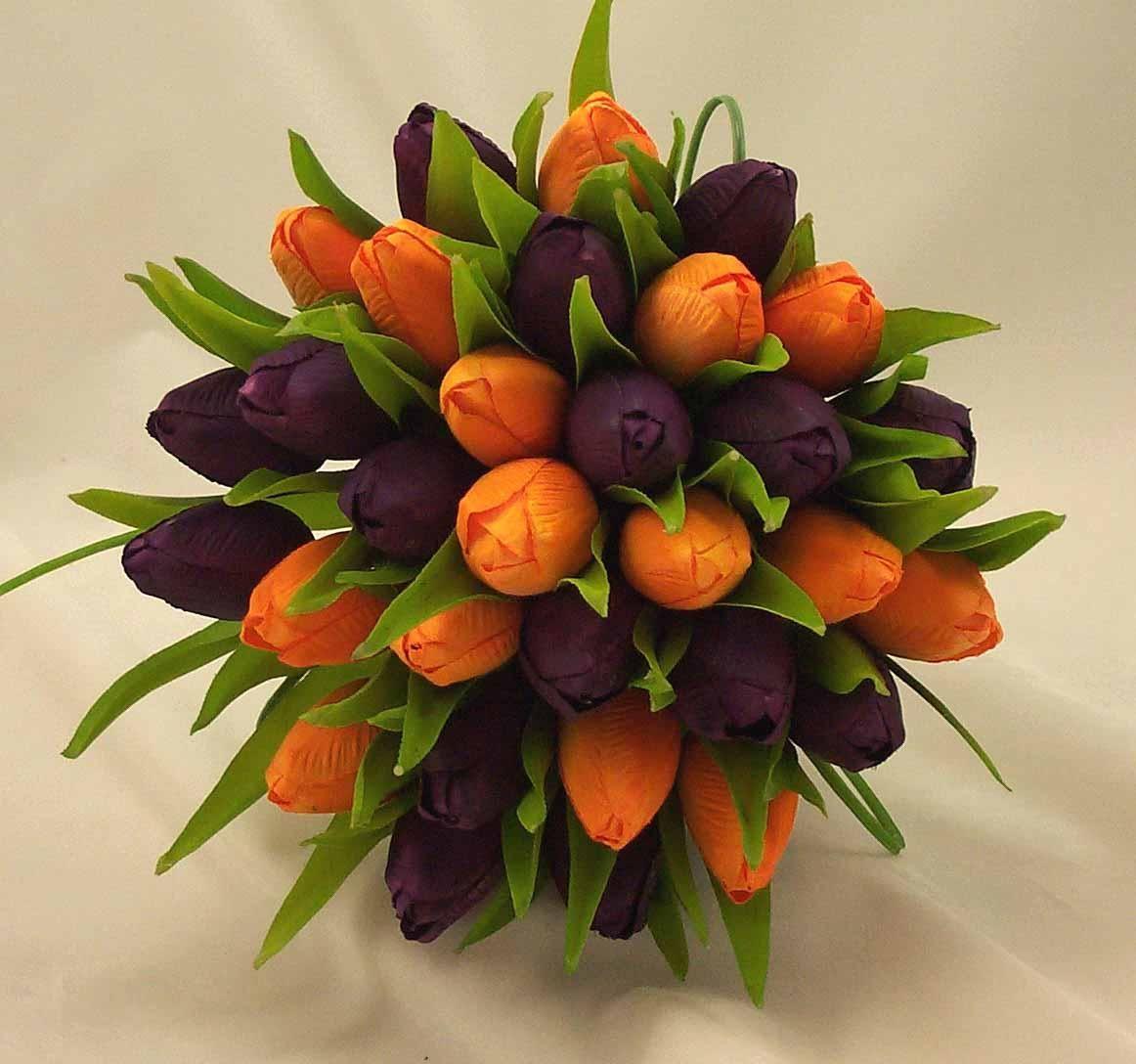 fall flowers for weddings Orange