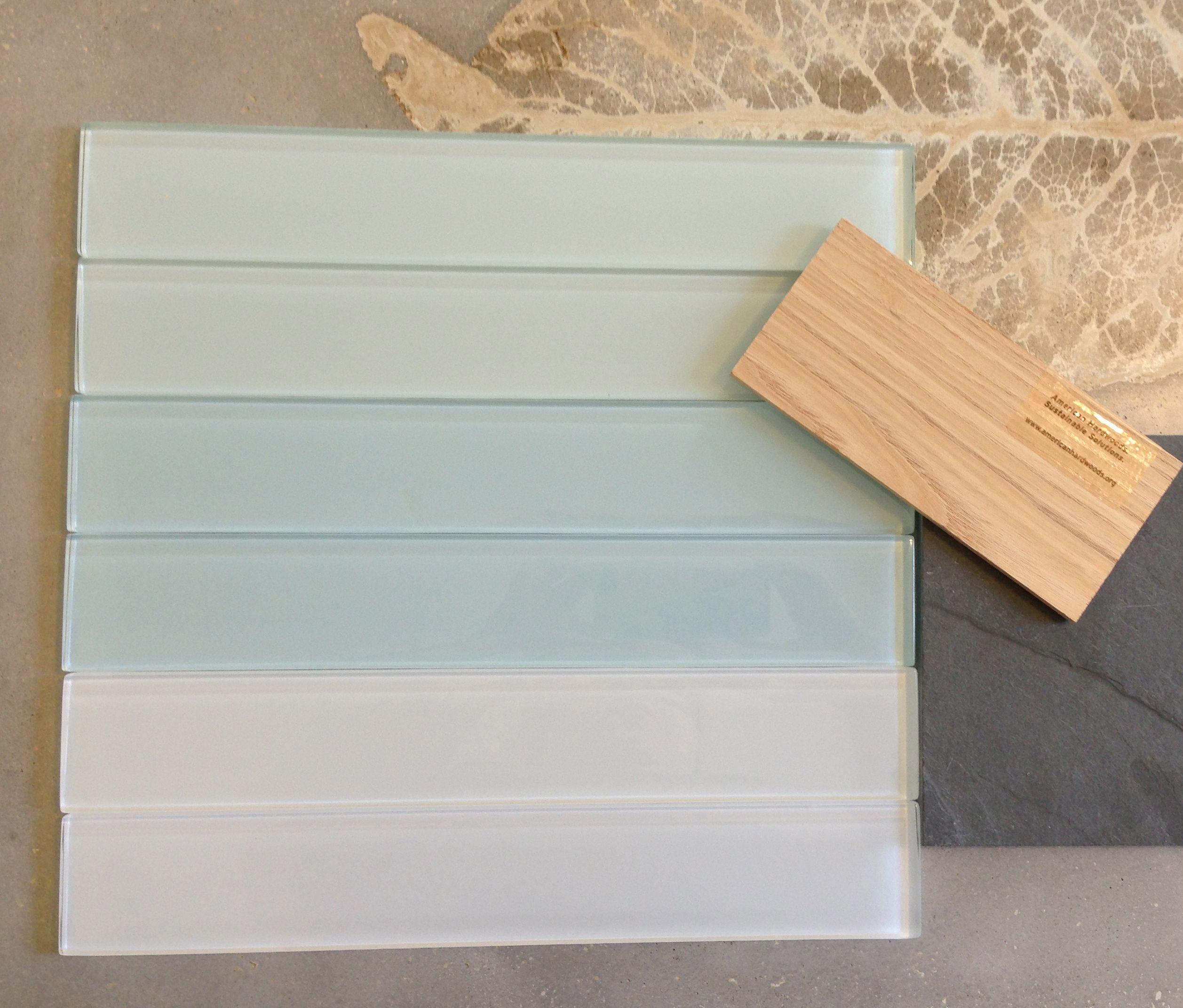 Simple Ann Sacks Glass Tile Backsplash Master Bathroom Lucian Inside Design Inspiration