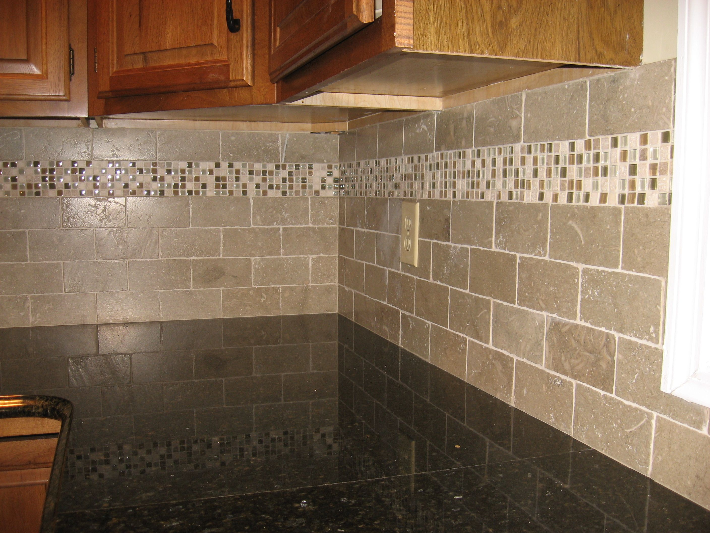 back splash mosaic kitchen backsplash subway tiles with mosaic accents backsplash with tumbled limestone subway tile and