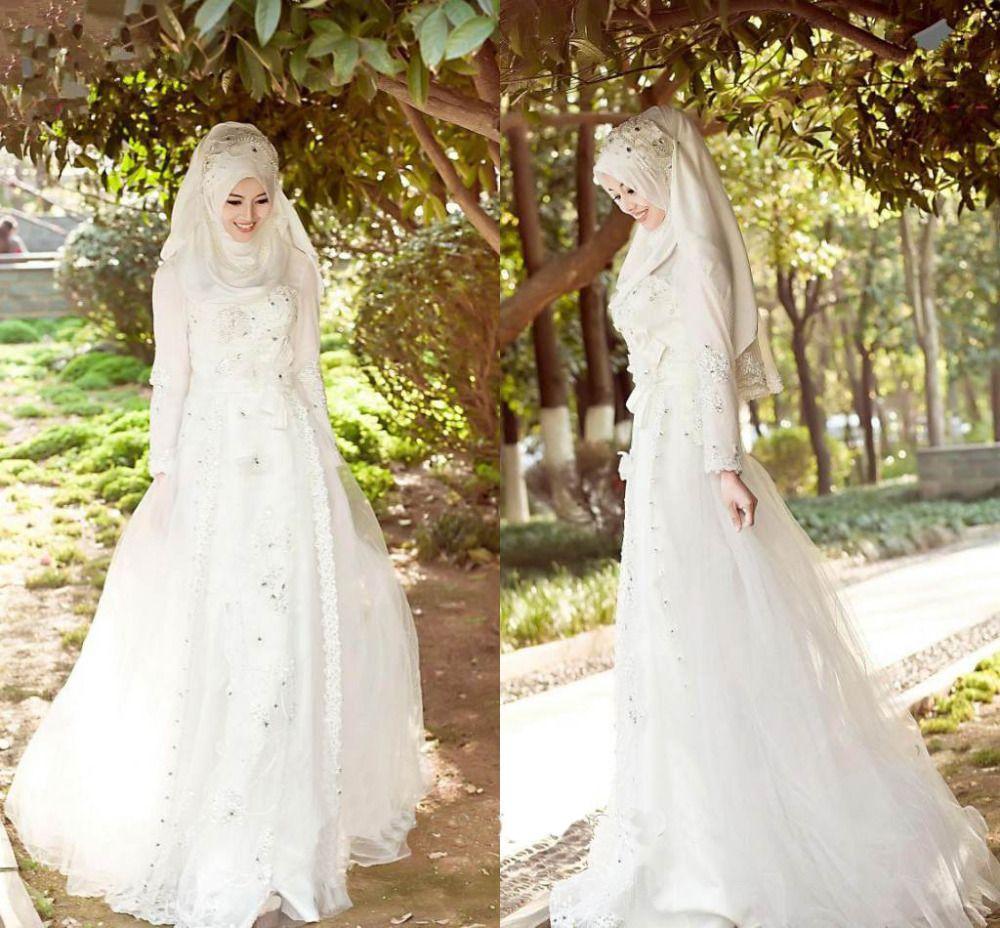 muslim wedding dresses muslim wedding gowns with hijab Google Search