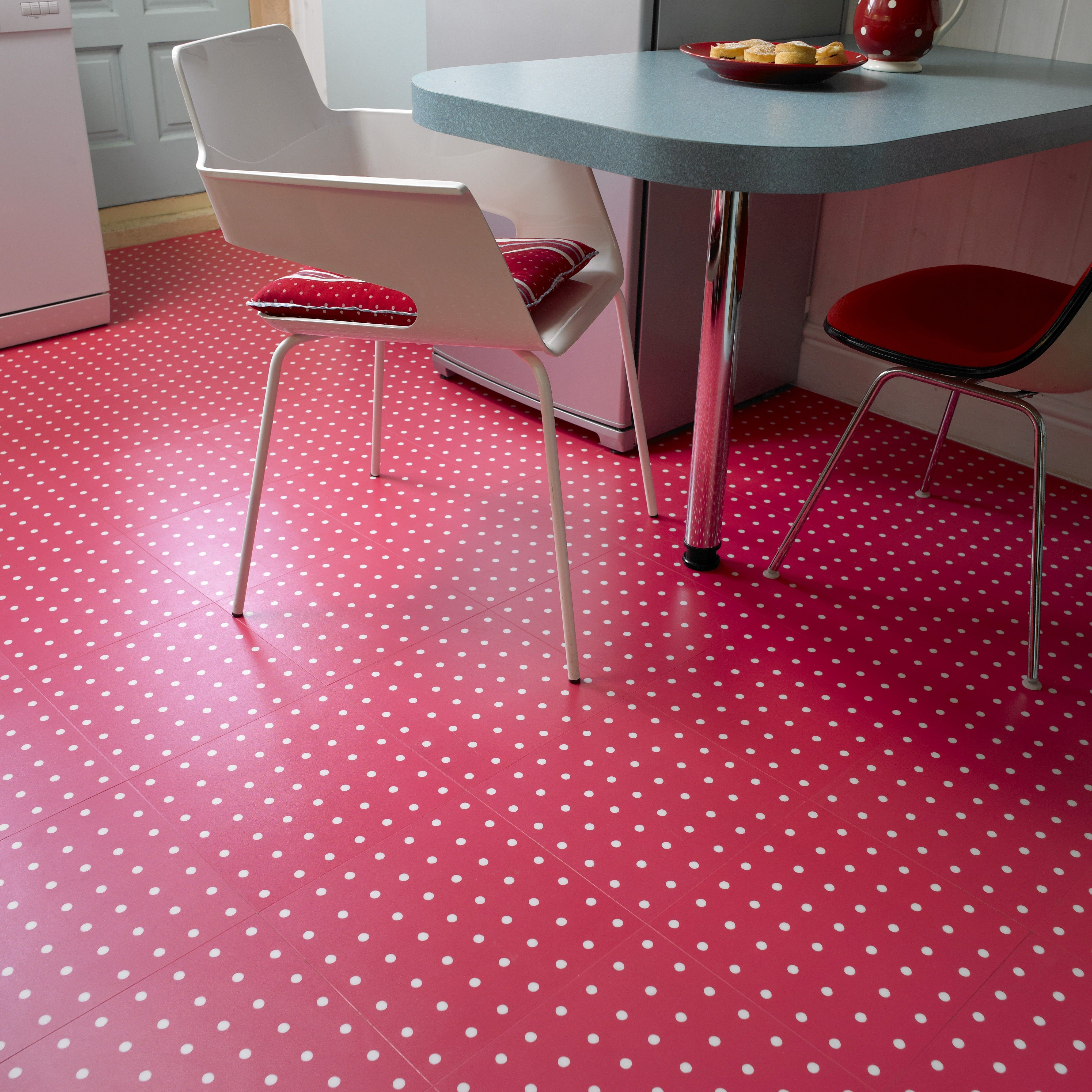 vinyl flooring kitchen Vinyl flooring enables a multitude of designs including concepts inspired by vintage s kitchens