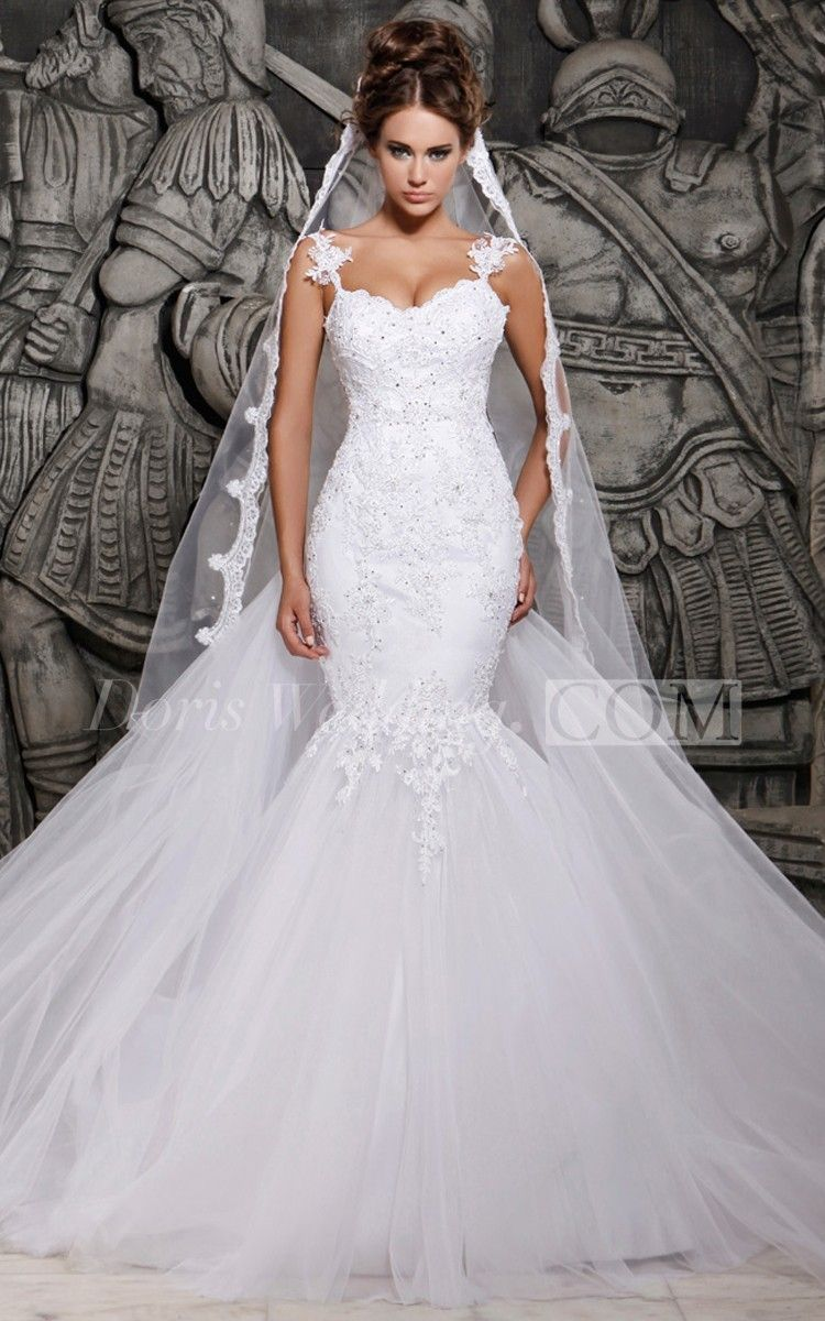form fitting wedding dresses Lace wedding dresses