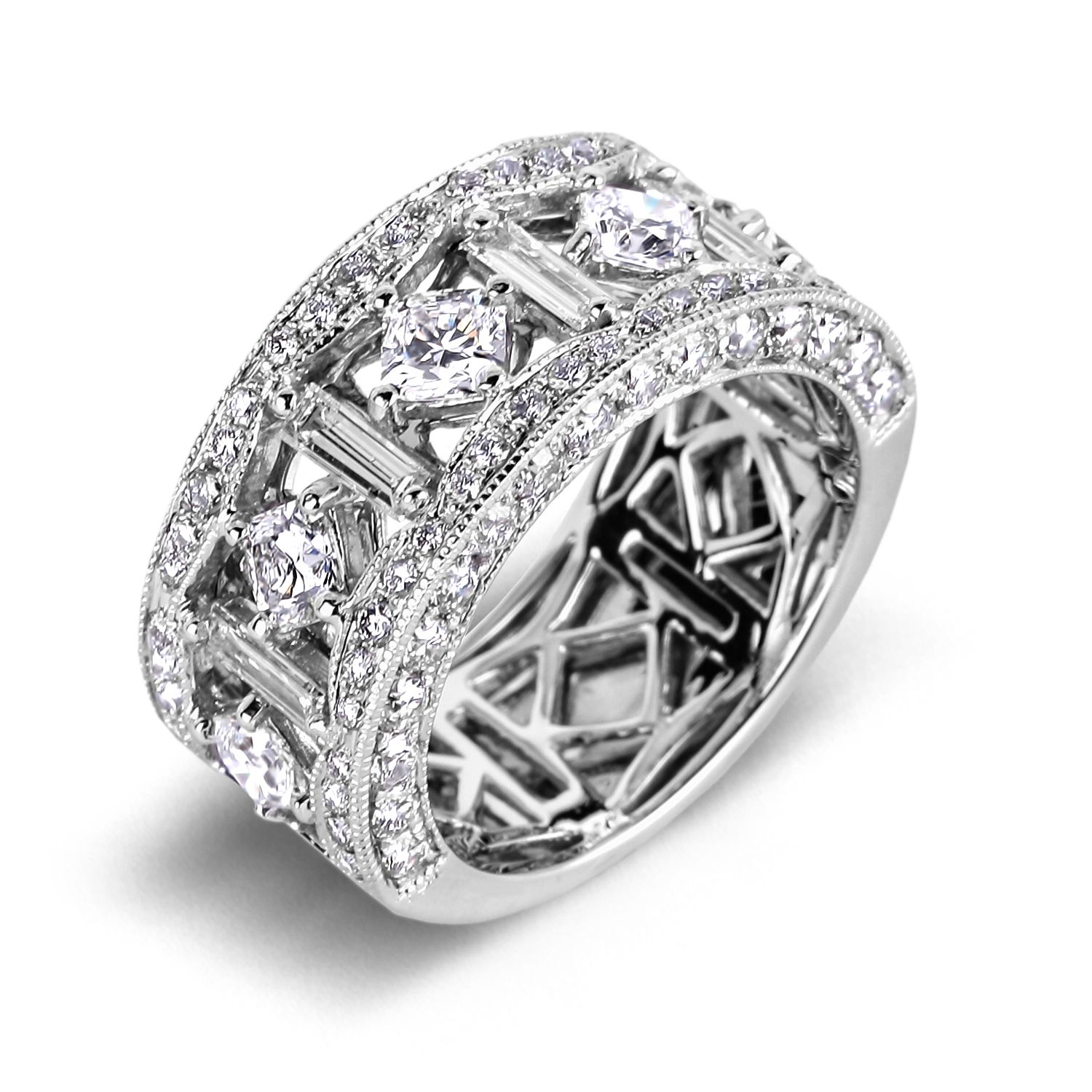 wedding anniversary rings Diamond Anniversary Rings SGR Rings out of price range but like the over
