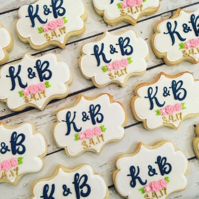 Pin by Meg Fink on Bridal Shower/Wedding Cookies ...