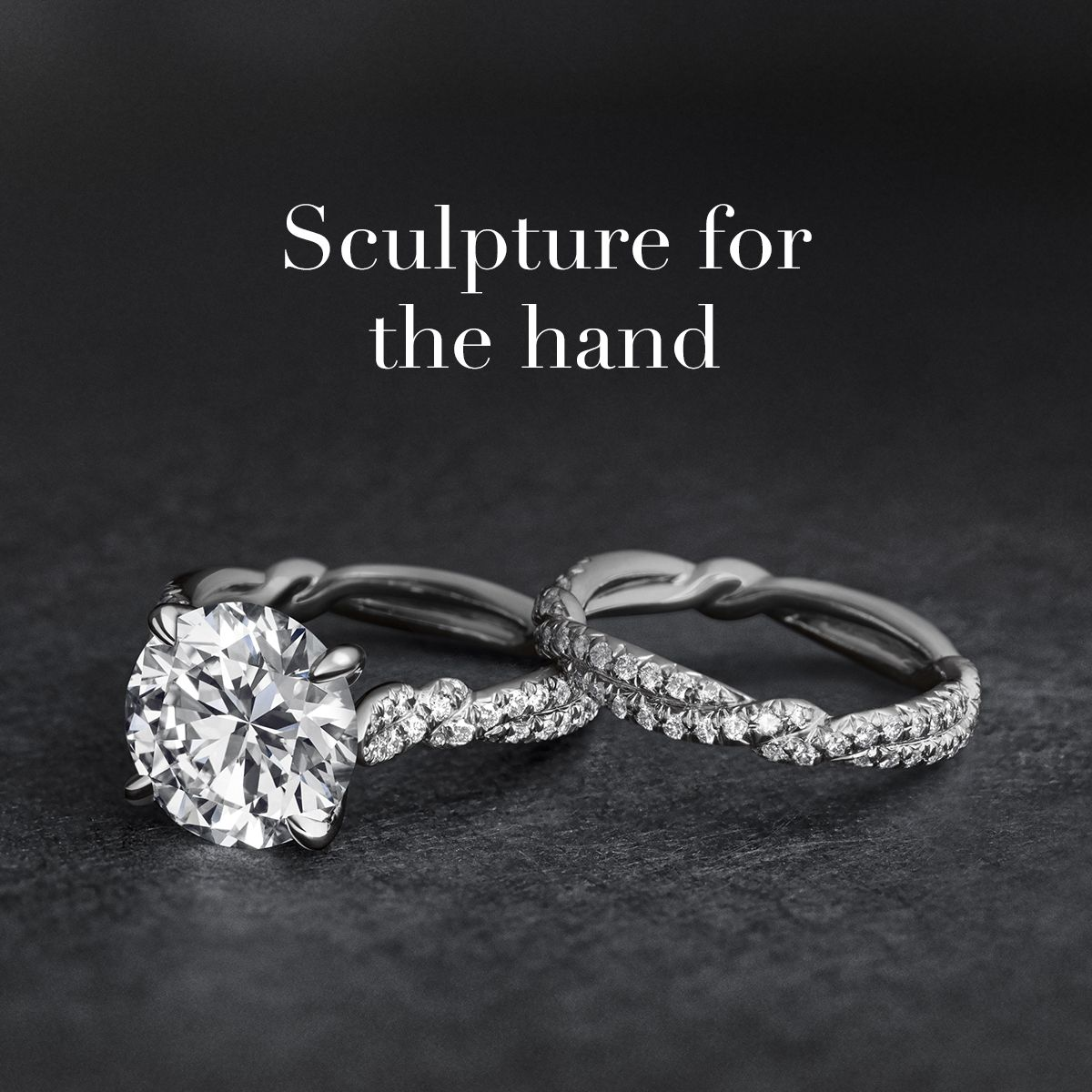 david yurman wedding rings David Yurman DY Wisteria rings in platinum
