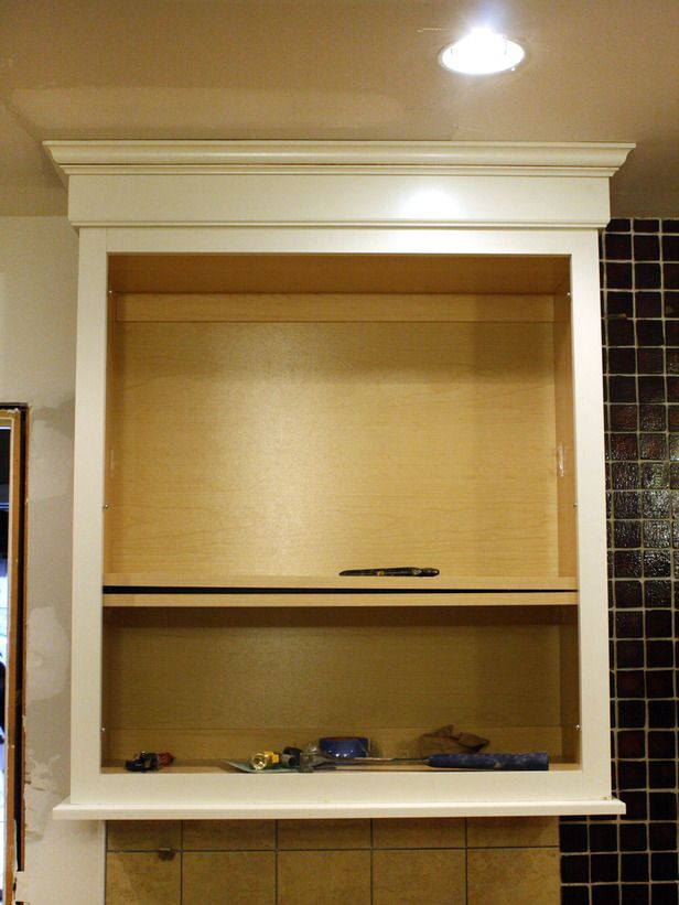 how to install a kitchen cabinet light rail lighting