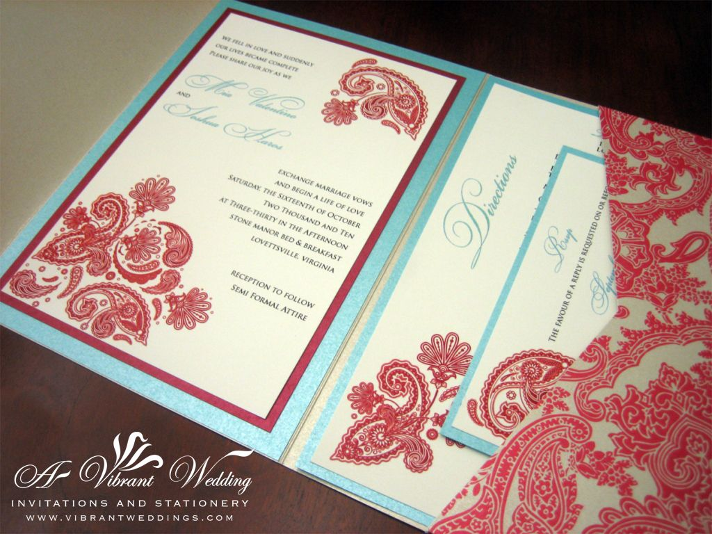 tiffany blue wedding invitations Red Tiffany Blue Wedding Invitation