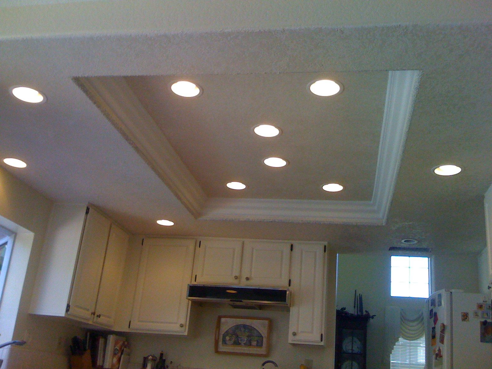 overhead kitchen lighting Kitchen Recessed Lighting lights replace them with recessed lights contact the recessed light