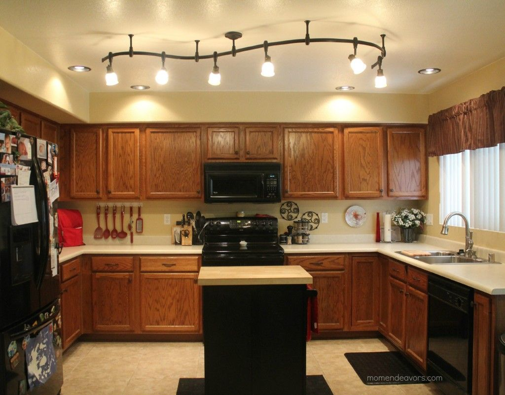 track lighting farmhouse kitchen lighting fixtures Kitchen After great lighting