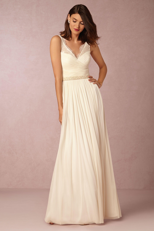 reception dresses for wedding Fleur Dress in Bride Reception Rehearsal Dresses at BHLDN