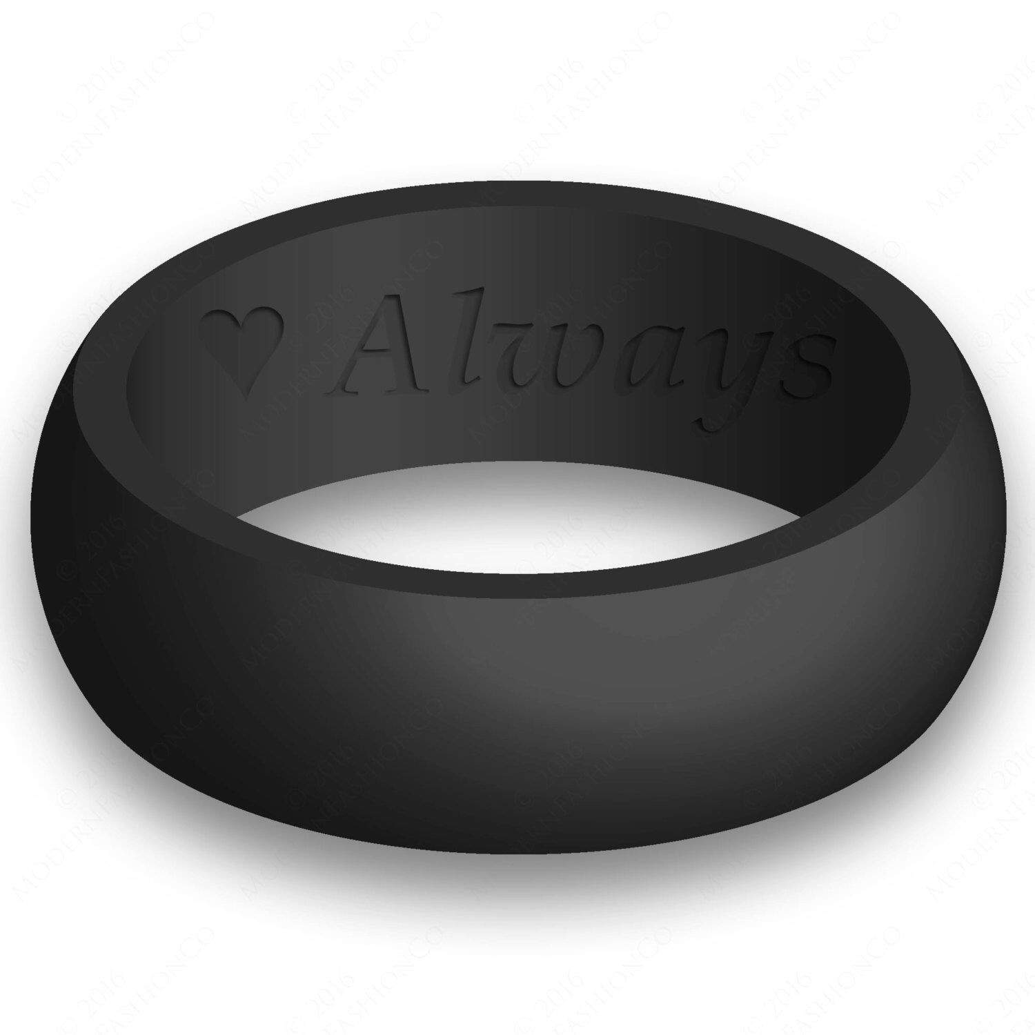 rubber mens wedding band Custom Engraving Mens Silicone Wedding Ring Band Flexible Hypoallergenic Safety Rubber Modern Athletic Active Wear Man Jewelry