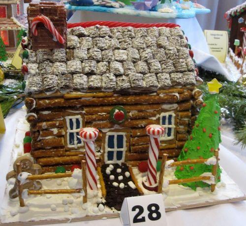 Medium Of Gingerbread House Ideas