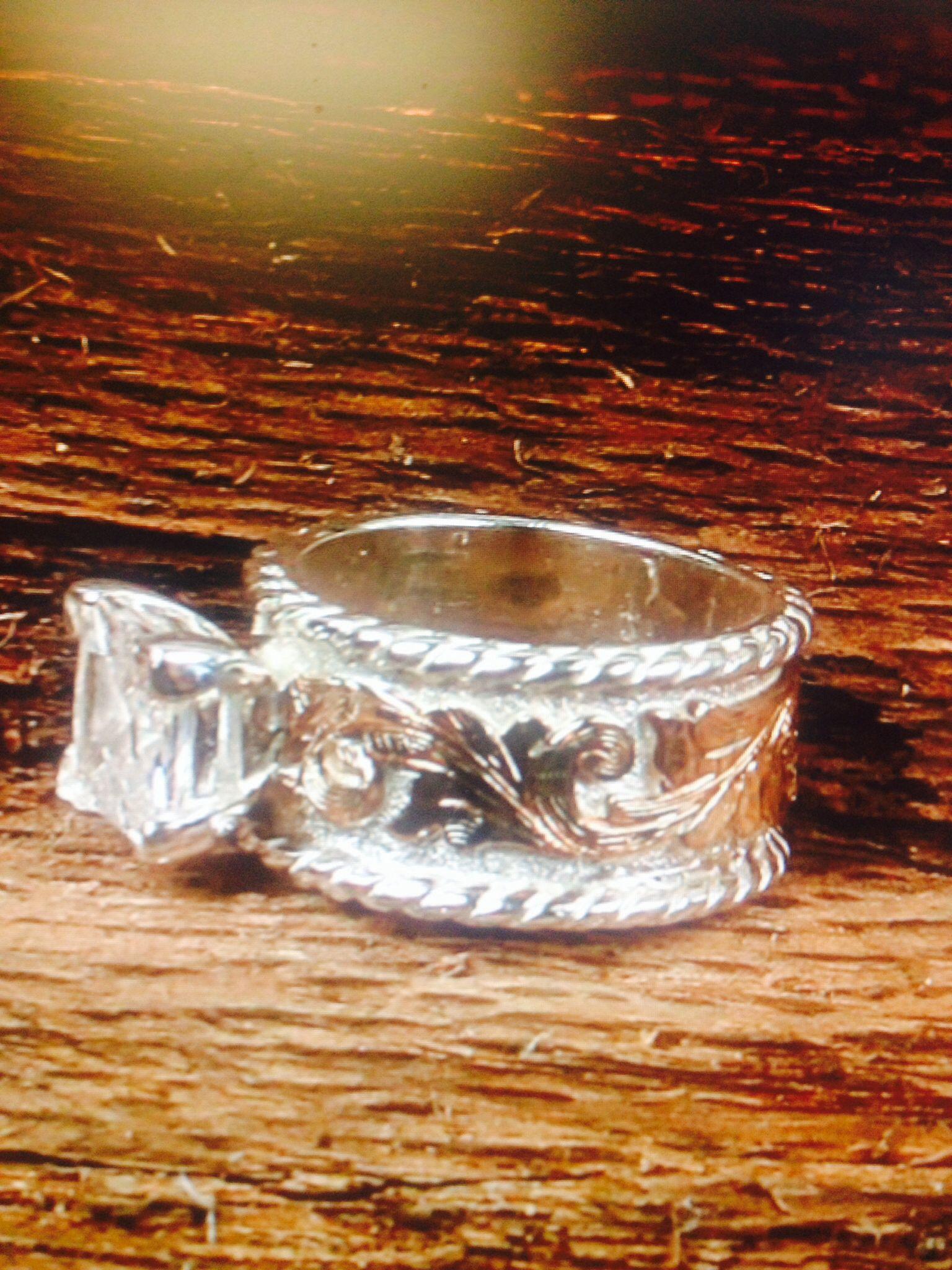 western style wedding rings Western wedding ring Fanning Jewelry