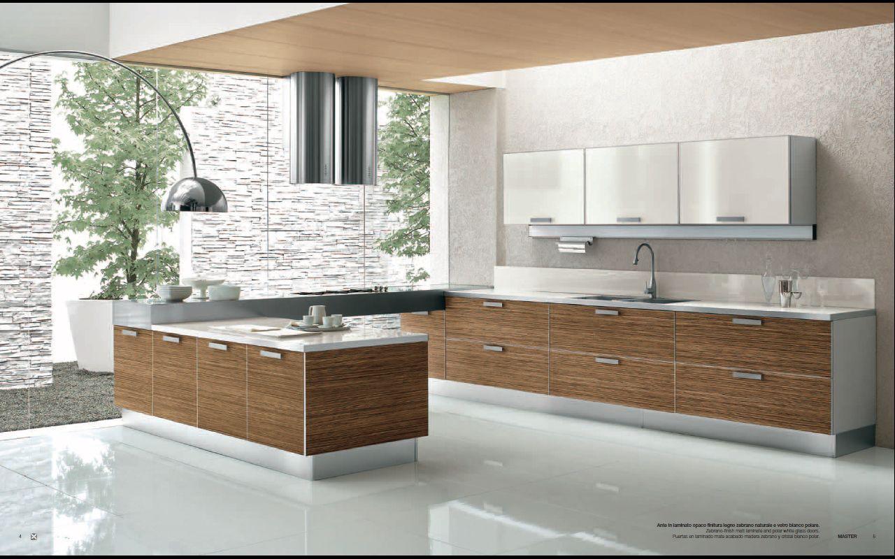 modern kitchen design Designs from Berloni Master Club Modern Kitchen Interior