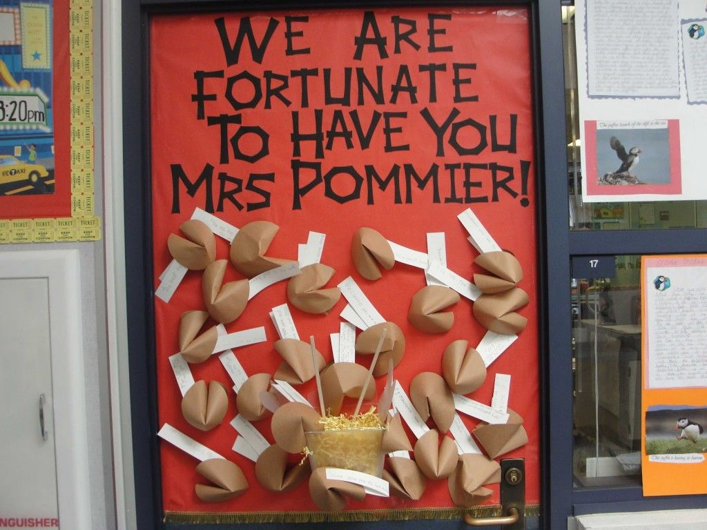 25 Awesome Teacher Appreciation Door Decorations Love The Quotes