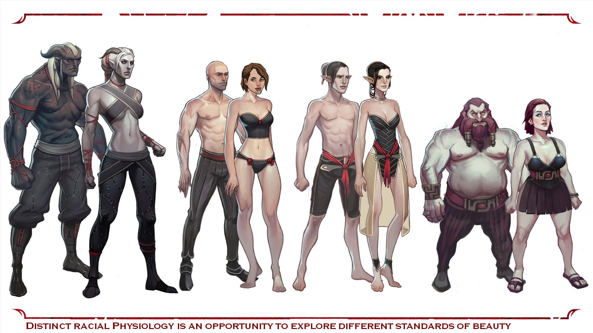 Image result for dragon age concept art elves