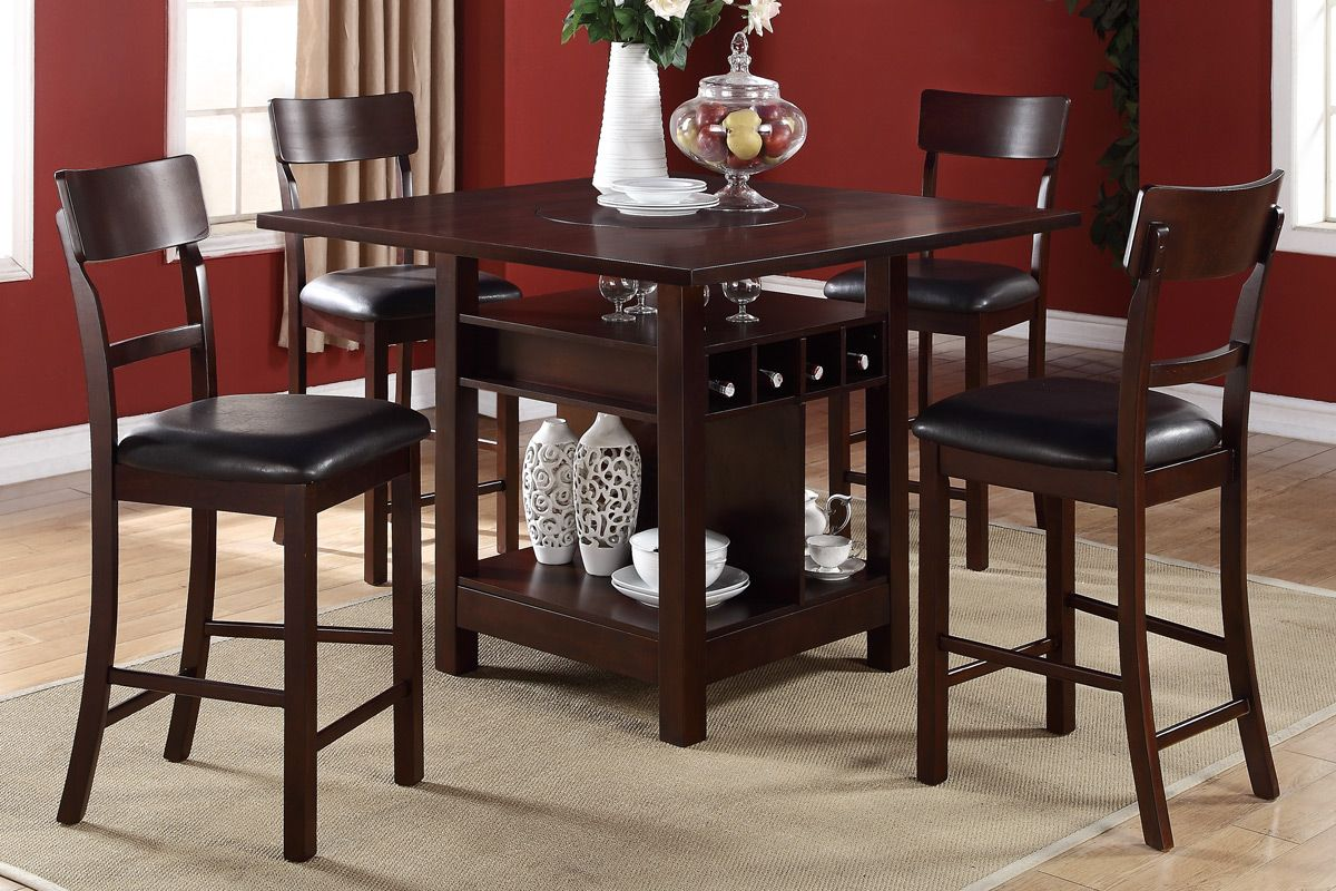 counter height kitchen tables Extraordinary Counter high dining sets with storage